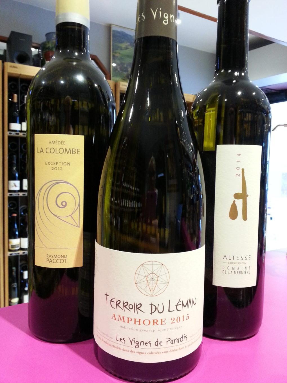 3 vins d'exception du Léman