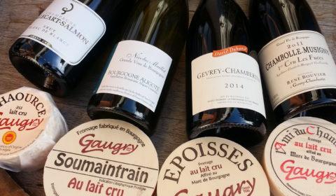 bourgogne fromage vins