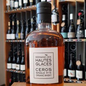 Ceros Single Rye Organic Whisky