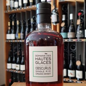 Obscurus Single Rye Organic Whisky
